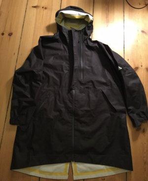 Adidas Płaszcz przeciwdeszczowy czarny