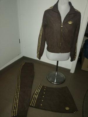 Adidas Tenue pour la maison doré-brun foncé