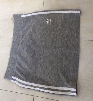 Adidas Mini rok wit-zilver