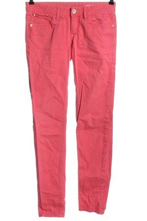 Adidas Röhrenjeans pink Casual-Look
