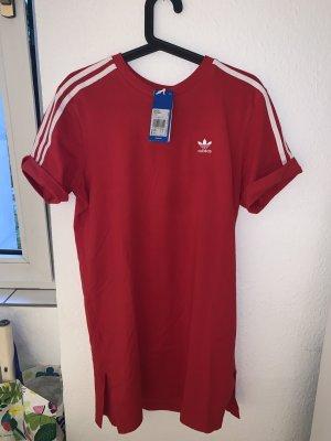 Adidas Longesleeve rood-wit