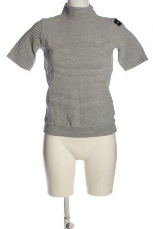 Adidas Maglione dolcevita grigio chiaro puntinato stile casual