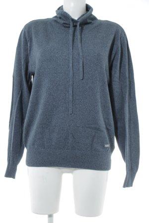 Adidas Rollkragenpullover graublau Casual-Look