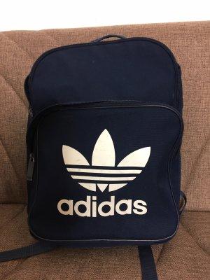 Adidas Sac à dos à roulettes bleu foncé