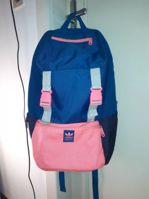 Adidas Laptop Backpack blue-pink synthetic material