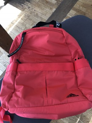 Adidas School Backpack neon pink
