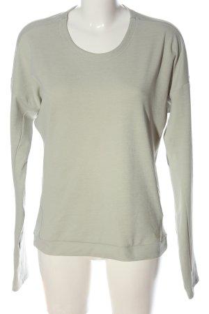Adidas Crewneck Sweater light grey casual look