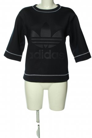 Adidas Rundhalspullover schwarz Casual-Look