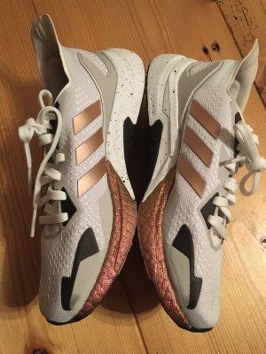 Adidas Running Schuhe 37 1/3- Laufschuhe x9000L3 weiß/Kupfer