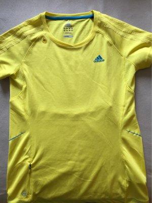 Adidas T-shirt de sport jaune-jaune fluo
