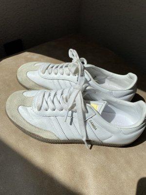 Adidas Samba weiß Leder, Gr. 37 1/3