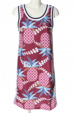 Adidas Tube Dress themed print casual look