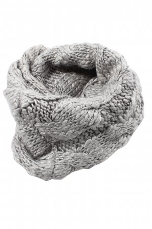 Adidas Tube Scarf light grey cable stitch casual look