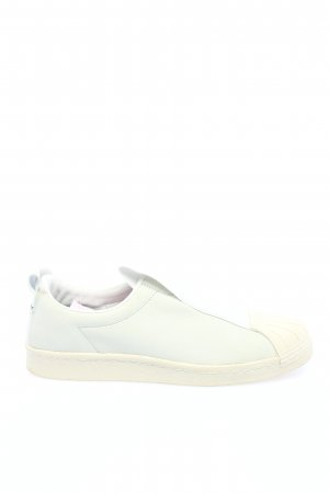 Adidas Schlüpfschuhe weiß-creme Casual-Look