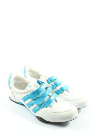 Adidas Instapsneakers wit-blauw casual uitstraling