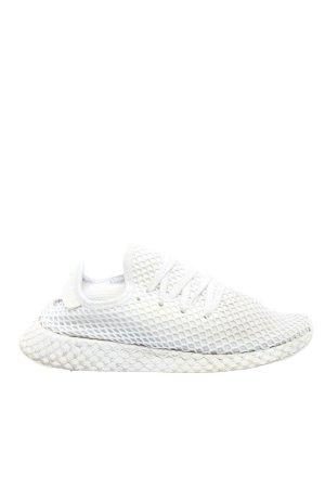 Adidas Schlüpfsneaker weiß Webmuster Casual-Look