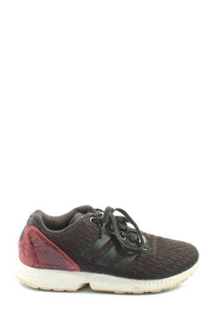 Adidas Slip-on Sneakers black-red casual look
