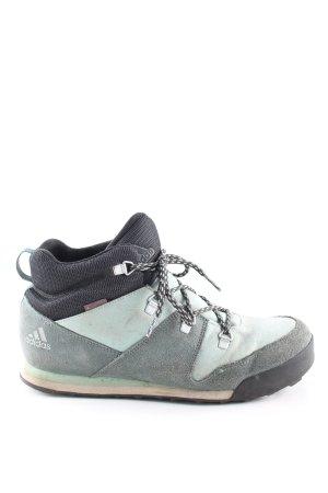 Adidas Schnür-Stiefeletten grün-schwarz Casual-Look