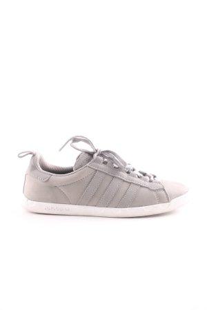 Adidas Schnürschuhe hellgrau Casual-Look