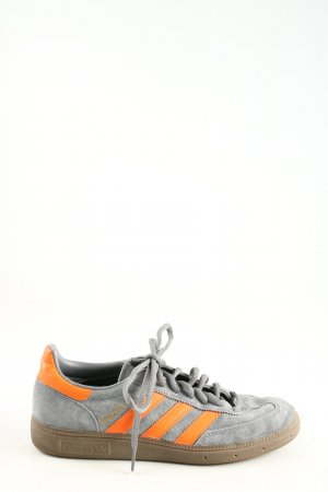 Adidas Lace Shoes light grey-light orange casual look