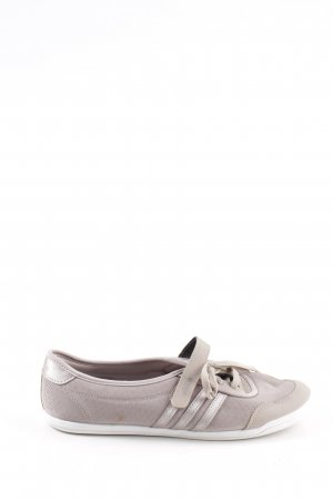 Adidas Schnürschuhe wollweiß-silberfarben Casual-Look