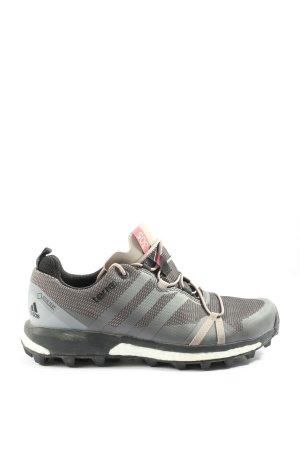 Adidas Schnürschuhe hellgrau sportlicher Stil
