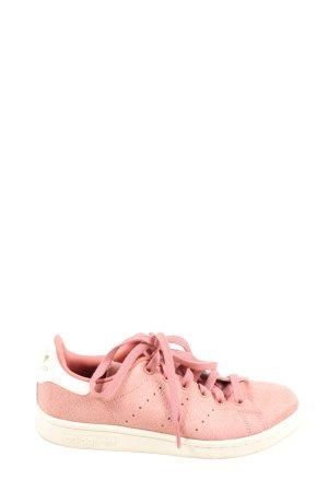 Adidas Zapatilla brogue rosa-blanco look casual