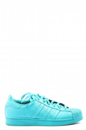 Adidas Lace-Up Sneaker blue casual look