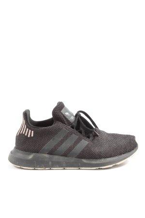 Adidas Schnürsneaker schwarz-creme Casual-Look