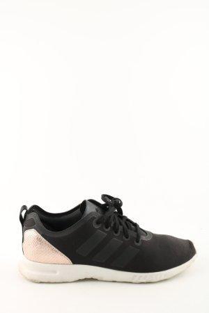 Adidas Schnürsneaker schwarz-nude Animalmuster Casual-Look