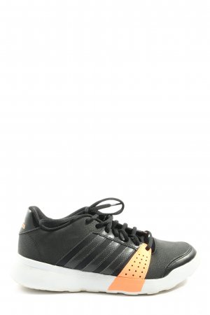 Adidas Schnürsneaker schwarz-wollweiß Casual-Look