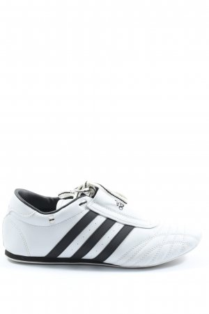 Adidas Schnürsneaker weiß-schwarz Casual-Look