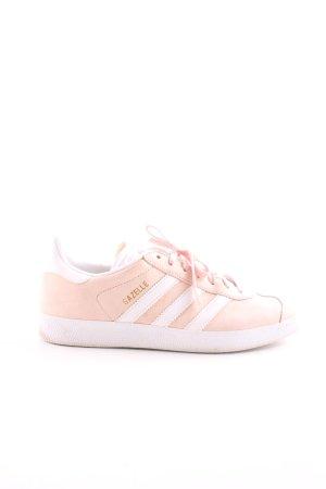 Adidas Schnürsneaker pink-weiß sportlicher Stil