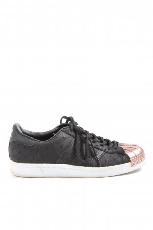 Adidas Lace-Up Sneaker black-bronze-colored casual look