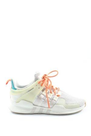 Adidas Basket à lacet blanc-crème style décontracté