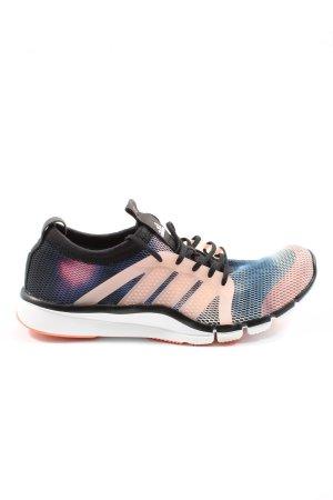 Adidas Schnürsneaker blau-pink Allover-Druck Casual-Look