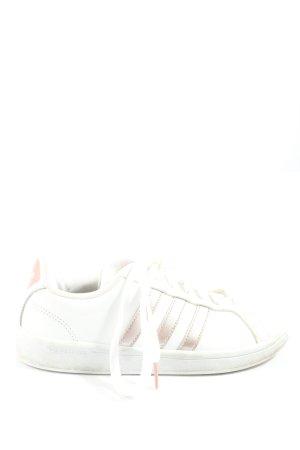 Adidas Schnürsneaker weiß-creme Casual-Look