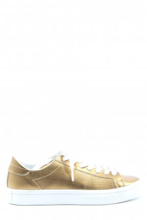 Adidas Schnürsneaker goldfarben Casual-Look