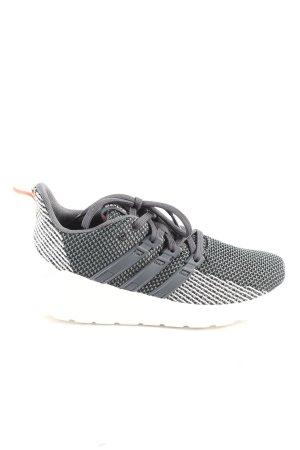 Adidas Schnürsneaker schwarz-weiß Allover-Druck Casual-Look