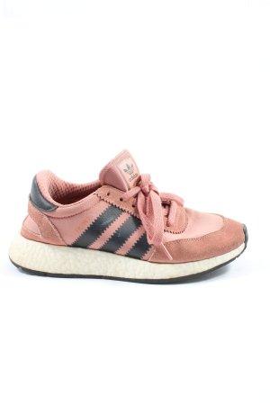 Adidas Schnürsneaker pink-schwarz Casual-Look