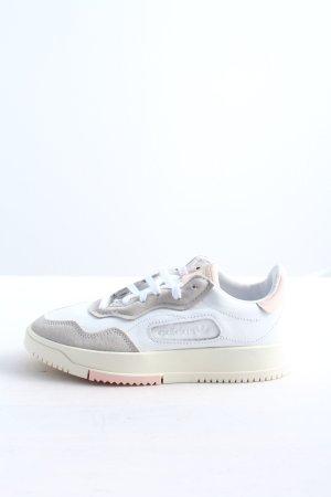 Adidas Schnürsneaker weiß-hellgrau Casual-Look