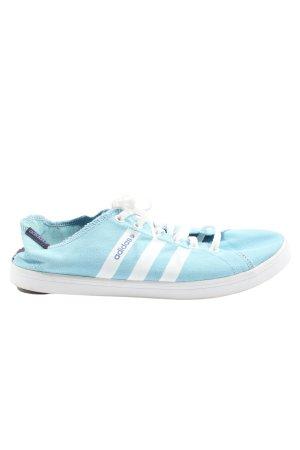 Adidas Schnürsneaker blau-weiß Casual-Look