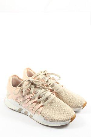 Adidas Schnürsneaker wollweiß-pink Casual-Look