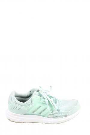 Adidas Lace-Up Sneaker turquoise casual look