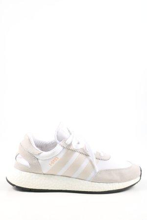 Adidas Basket à lacet blanc cassé-blanc style décontracté