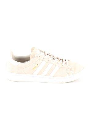 Adidas Schnürsneaker creme-weiß Schriftzug gedruckt Casual-Look
