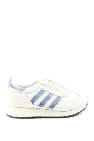 Adidas Basket à lacet blanc cassé-gris clair style décontracté