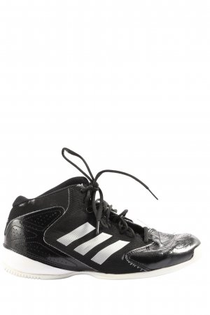 Adidas Lace-Up Sneaker black-white casual look