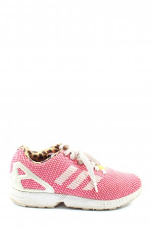 Adidas Schnürsneaker pink grafisches Muster Casual-Look