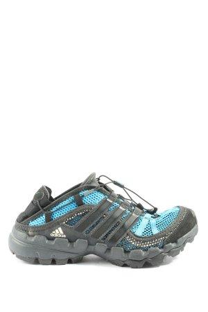 Adidas Schnürsneaker schwarz-blau Casual-Look